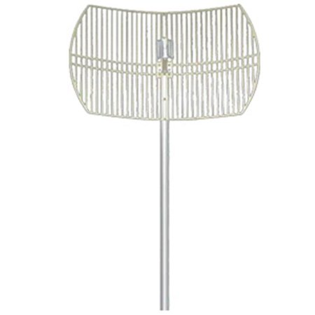 Hana Wireless HW-DCGD24-24NF 2. 4-2. 5GHz 24dBi Grid Dish Antenna