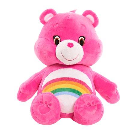 Care Bears Hug & Giggle Feature Plush - Cheer Bear Care Bears Wish Bear Plush