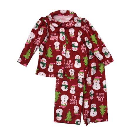 576d675c6 Carters - Carters Infant   Toddler Girls Holiday Sleepwear Set ...