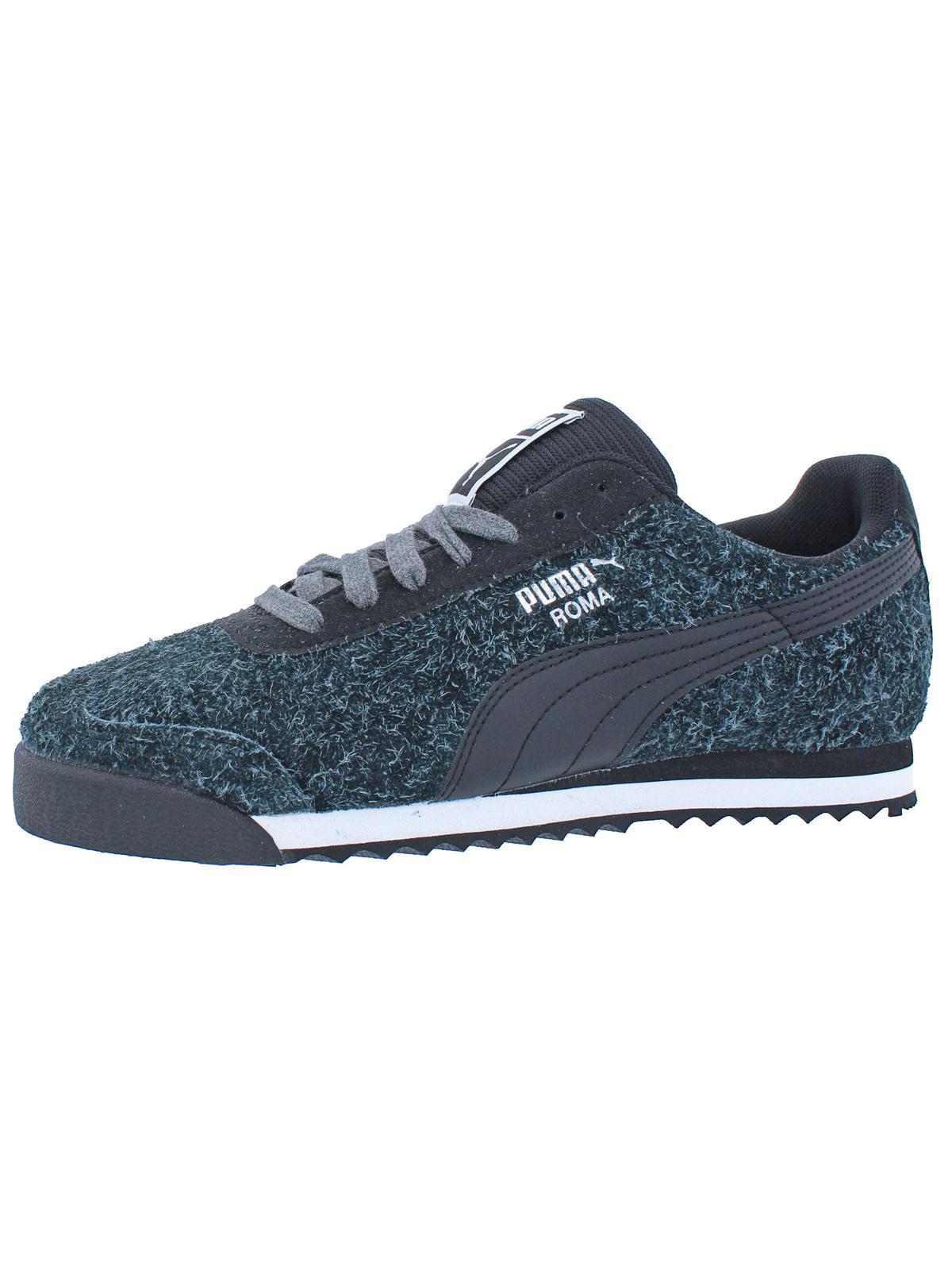 Puma Womens Roma Elemental Trainer Fashion Sneakers Black 8 Medium (B,M)