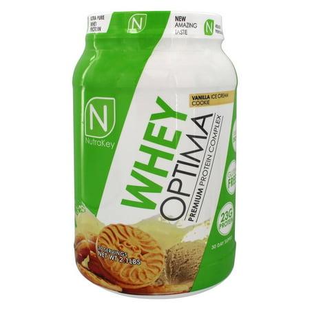 NutraKey - Whey Optima Premium Protein Complex Vanilla Ice Cream Cookie - 2.1