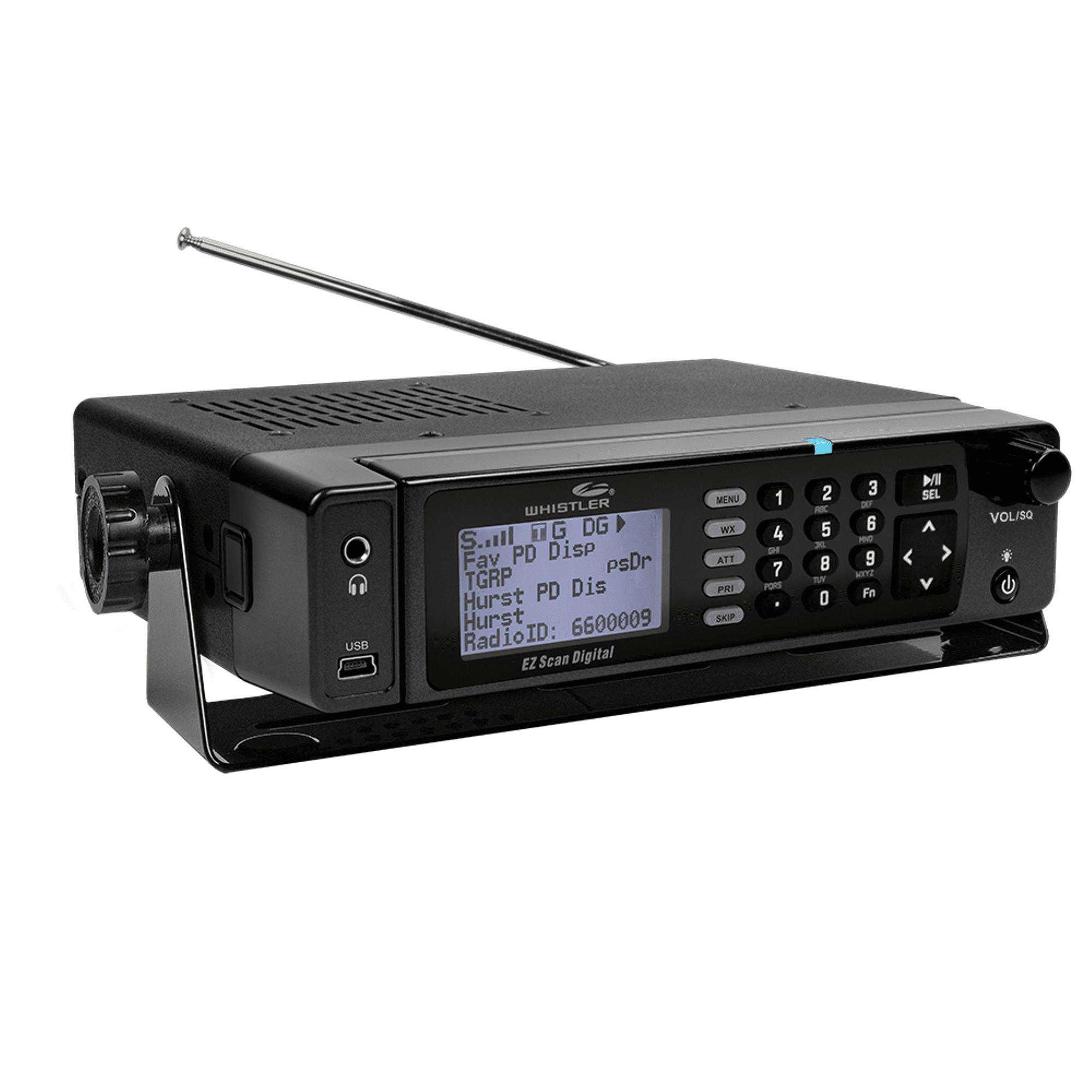 Whistler Group WS1098 Digital Desktop/Mobile Radio Scanner