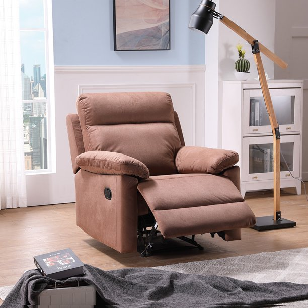 enyopro manual fabric recliner chair soft reclining chair