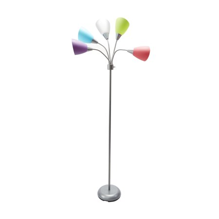 Mainstays 5-light Floor Lamp - Outdoor One Light Floor Lamp