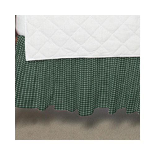 Patch Magic Gingham Checks Fabric Crib Dust Ruffle