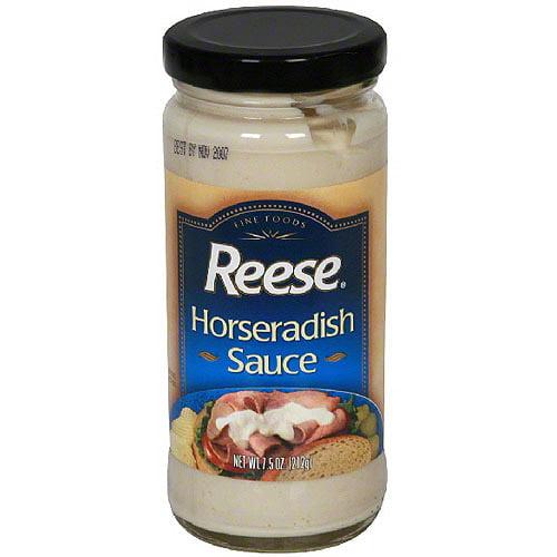 Reese Horseradish Sauce 7 5 Oz Pack Of 6 Walmart Com Walmart Com