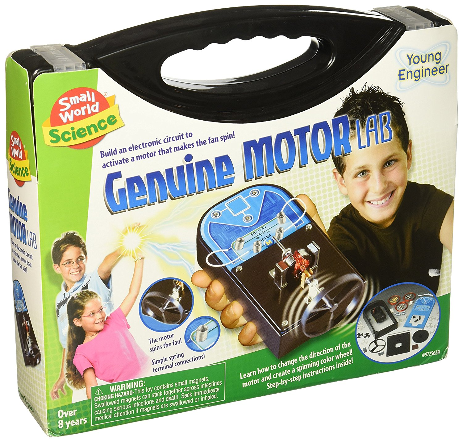 Genuine Motor Lab Science Kit..., By Small World Toys Ship from US by