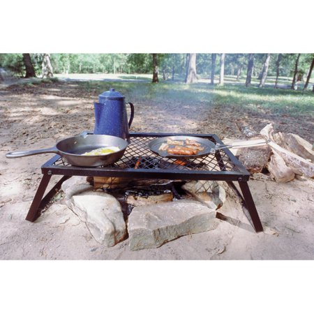 "Texsport Heavy Duty Camp Folding Grill, 24"" x 16"""