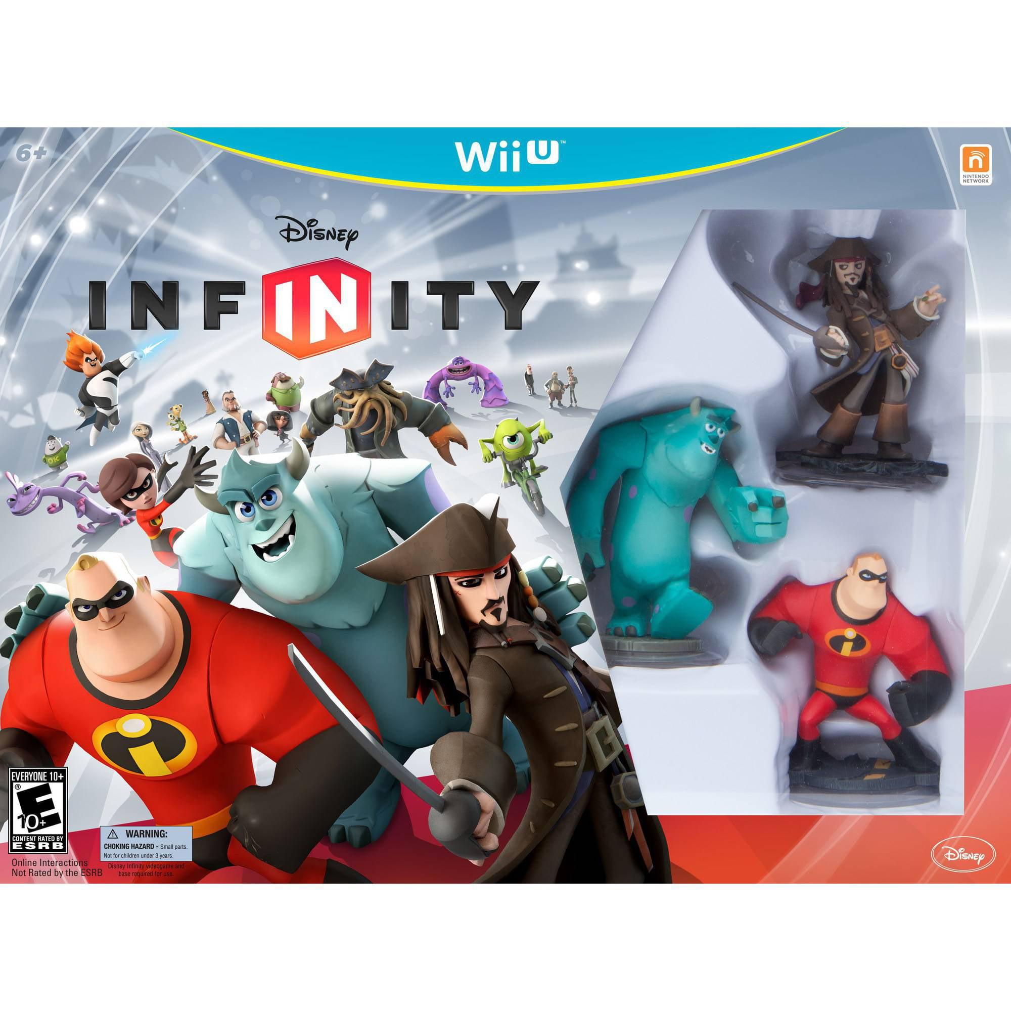 disney infinity starter kit (wii u) - walmart