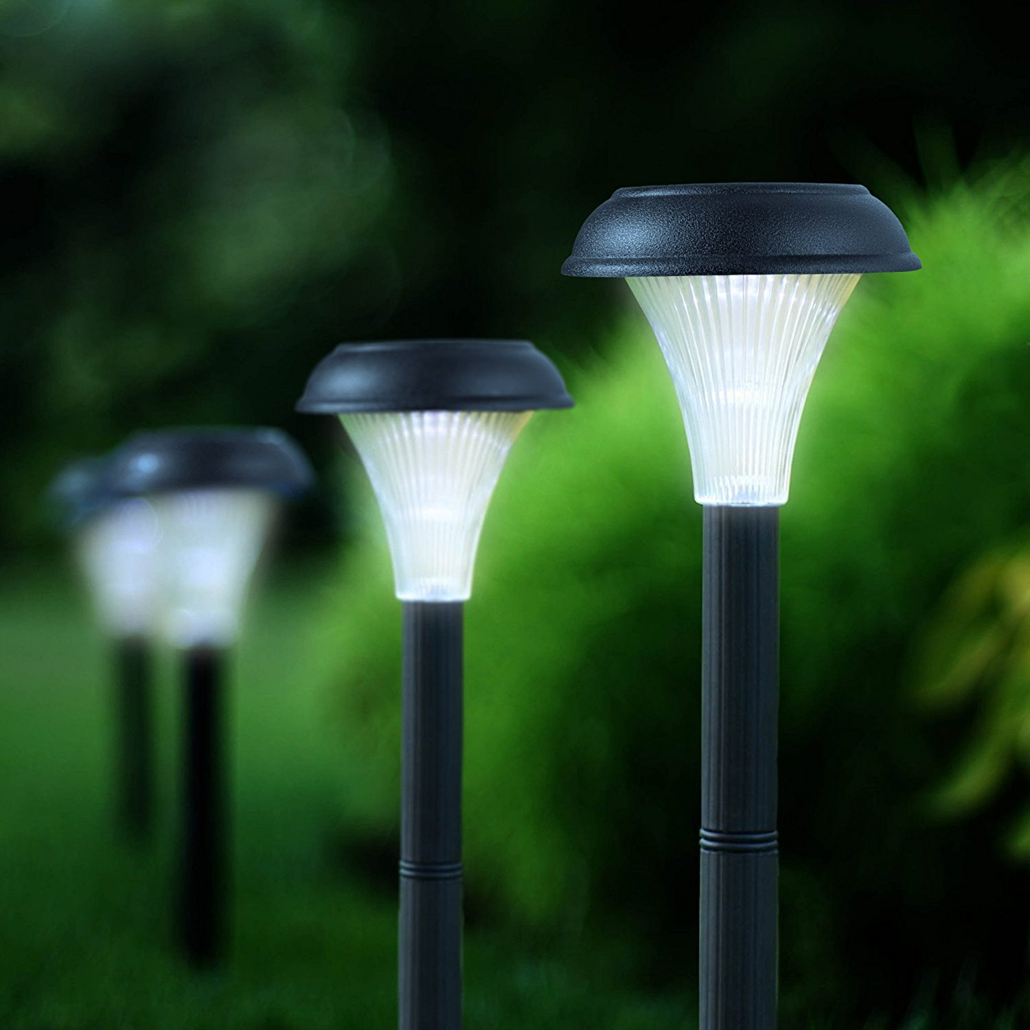 GardenBliss 10 Pack of Outdoor Solar Garden Lights for Your Yard Path Lawn and Landscape Lighting - Walmart.com & GardenBliss 10 Pack of Outdoor Solar Garden Lights for Your Yard ...