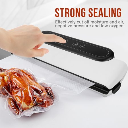 Sonew 110V Automatic Electric Vacuum Sealer Food Bag Sealing Machine Packing Storage Tool(US plug),Vacuum Sealer, Sealing Machine - image 7 of 13