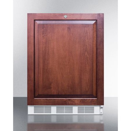 Medical NSF Compliant Built-in ADA Under-Counter Refrigerator -Wood