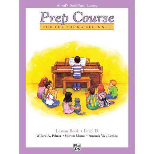 Prep Course for the Young Beginner: Lesson Book - Level D