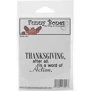 R&C Cling Stamp Thanksgiving