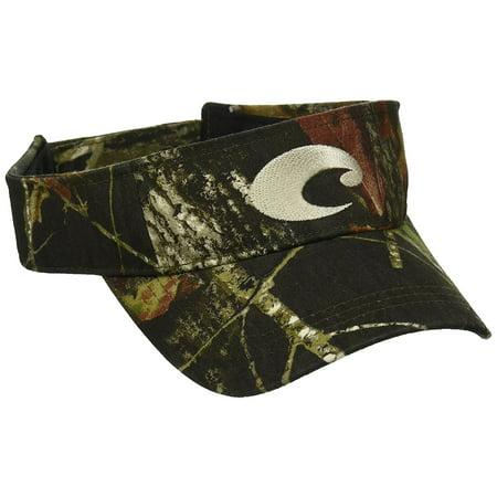 Costa Del Mar Cotton Visor, One Size Fits All, Camo - HA (Camouflage Costas)