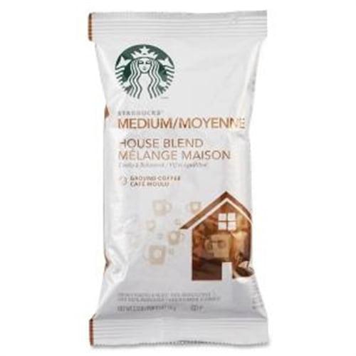 11018190 Starbucks Coffee House Blend, Nut, Cocoa Medium 18   Box by Starbucks