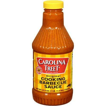 (4 Pack) Carolina Treet Original Cooking Barbeque Sauce, 27.5 oz Carolina Bbq Sauce