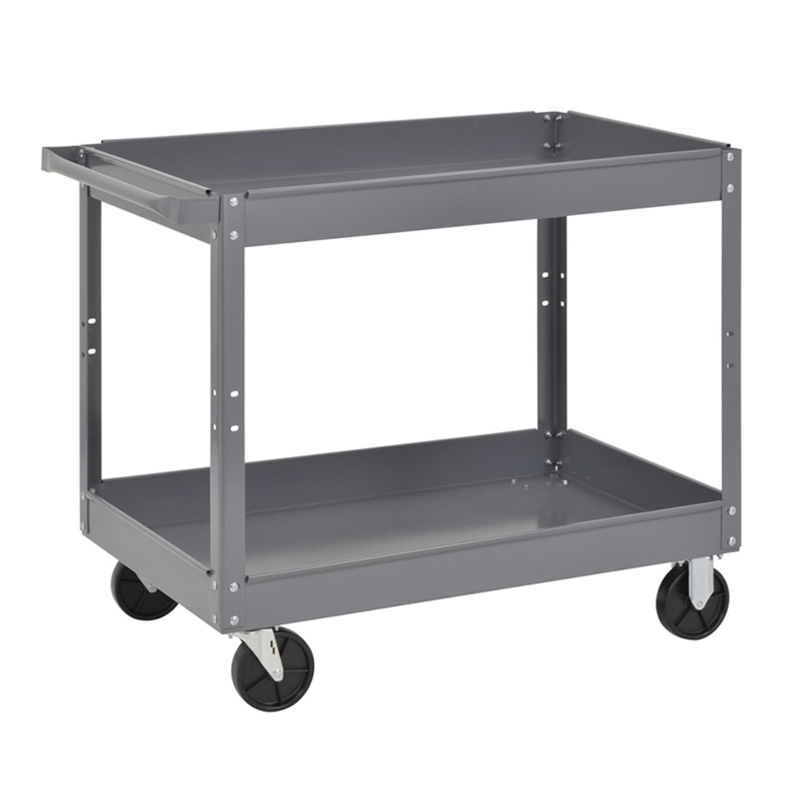Edsal Industrial Gray Commercial Service Cart, SC2024