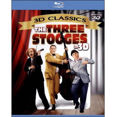 The Three Stooges In 3D (Blu-ray) (Full Frame)