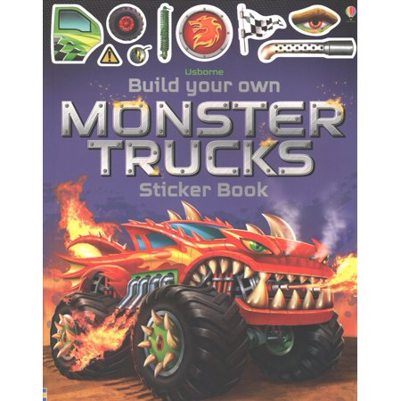 BUILD YOUR OWN MONSTER TRUCKS - Make Your Own Monster High Character
