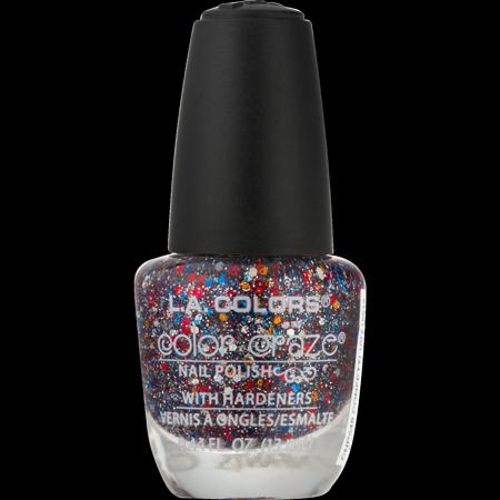 L.A. Colors Color Craze Nail Polish, Confetti, 0.44 fl oz - Walmart.com