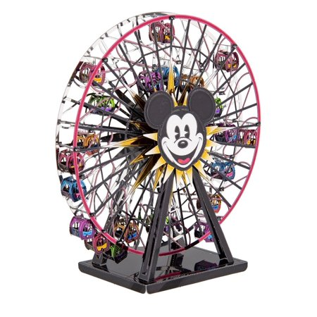 Disney Parks Mickey's Fun Wheel Colored Metal Earth Model Kit 3D New