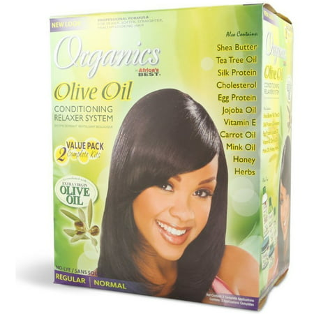 Africa's Best Organics Olive Oil Conditioning Relaxer System, Regular 2
