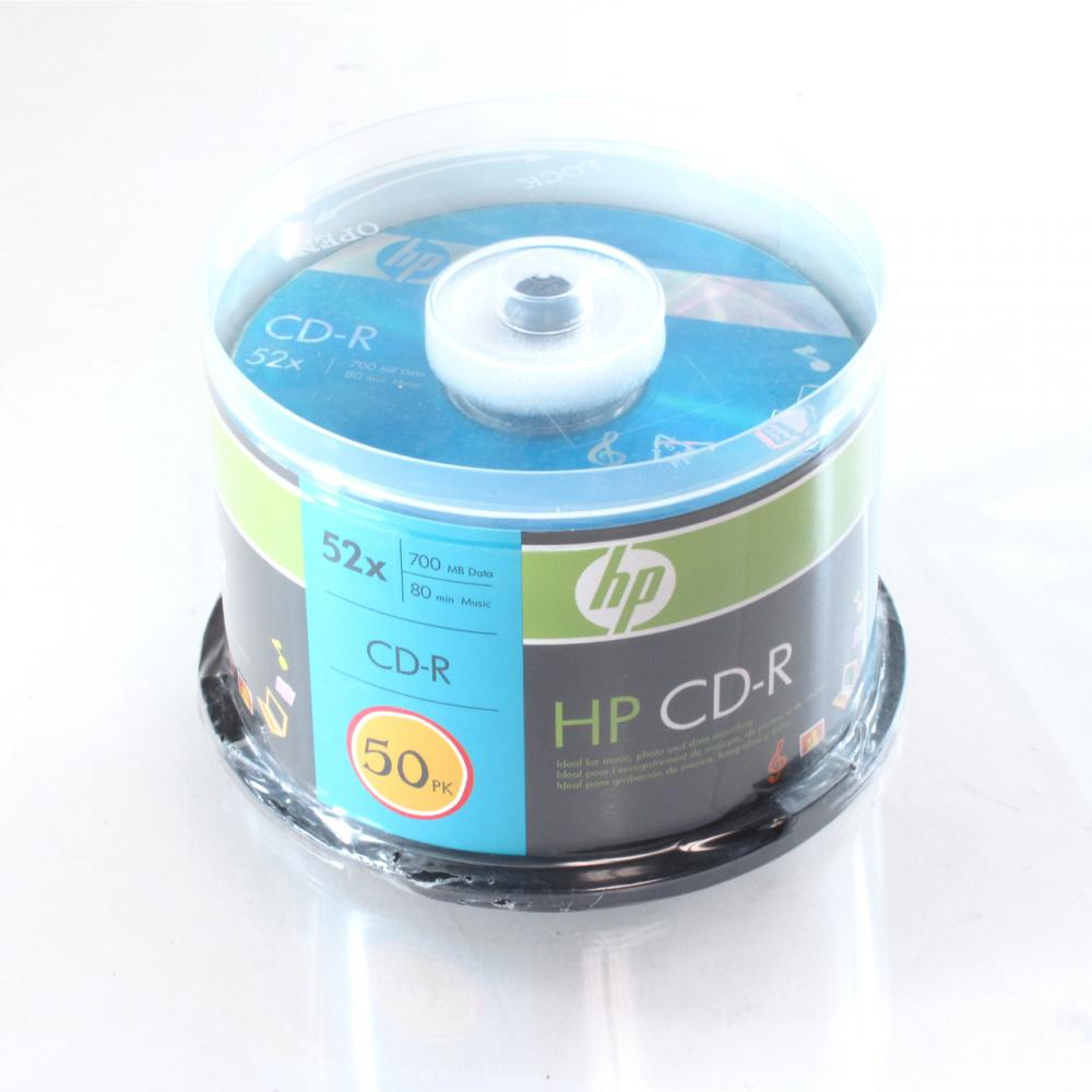 HP - CD-R ( 80min ) 52x - spindle