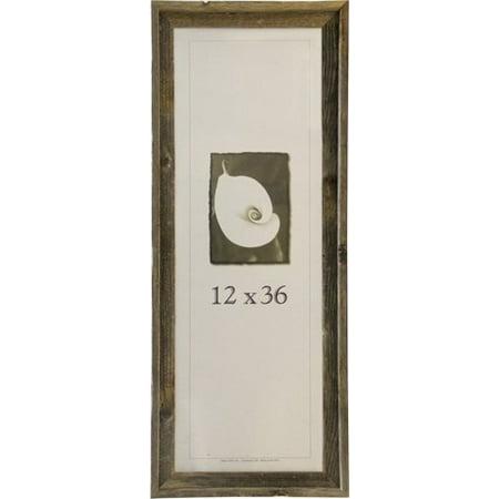 12x36 Picture Frames-Barnwood frames