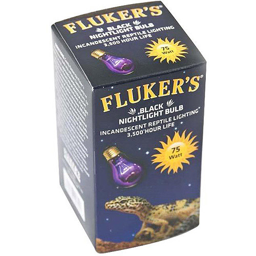 Fluker's Aquaculture 75W Black Nighttime Bulb
