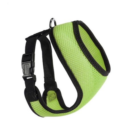 13 N x 16-22 G in. Nylon Mesh Harness, Grey - image 1 of 1