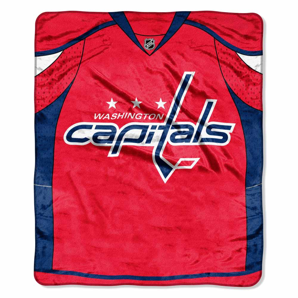 Washington Capitals Plush Blanket