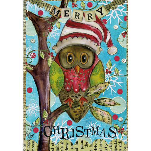 Lang Holiday Owl Petite Christmas Cards