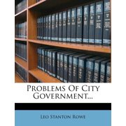 Problems of City Government...