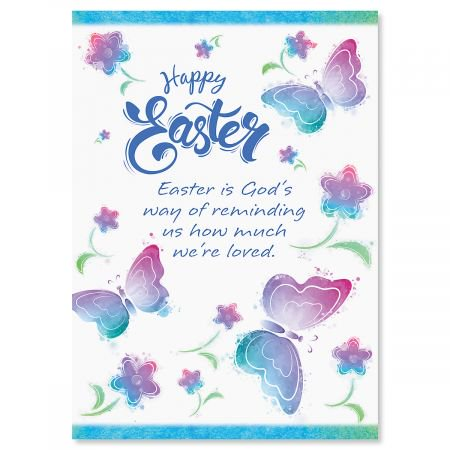 Butterfly Easter Greeting Cards - Set of 8 (1 design) 5