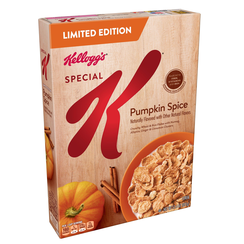 Kellogg's Special K Cereal, Pumpkin Spice, 12.4 Oz
