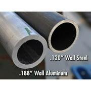 Poison Spyder Front Aluminum Crusher Flares - Narrow Width (Aluminum) - 17-03-031-ALUM