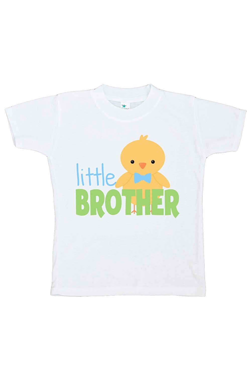 Custom Party Shop Boy's Little Brother Easter Tshirt - Blue and Green / 5/6T Shirt