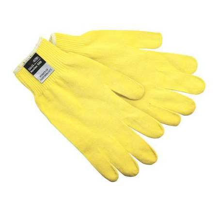 MCR SAFETY Cut Resistant Gloves,A2,M,Yellow,PK12 9394M
