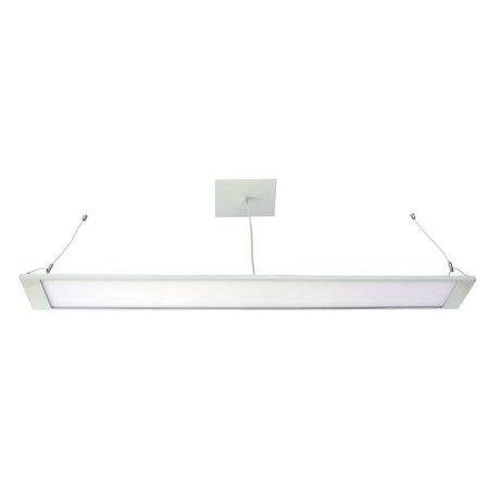 HomeSelects Contempo 6648 Linear Pendant Light