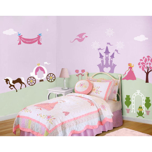 My Wonderful Walls Perfectly Princess Wall Stencil Kit