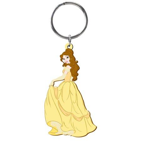 PVC Key Chain - - Princess - Belle Soft Touch Toys New 23737