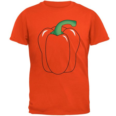 Halloween Fruit Vegetable Bell Pepper Costume Mens T Shirt - Halloween Inspired Fruit