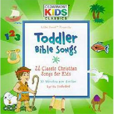 Provident-Integrity Distribut 100384 Disc Cedarmont Kids Toddler Bible Songs