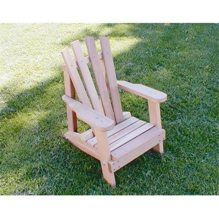 Creek Vine Designs WF5000CVD Cedar Child Size Wide Slat Adirondack Chair