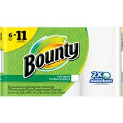 Bounty Paper Towels, 81 sheets, 6 rolls