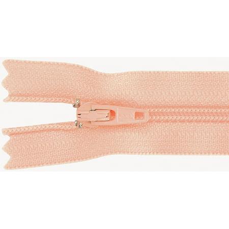 Ziplon Coil Zipper 14 Apricot Multi Colored
