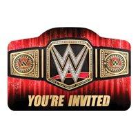 WWE Wrestling Smash Invitations w/ Envelopes (8ct)
