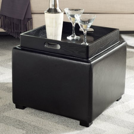 Prime Safavieh Bobbi Tray Storage Ottoman Gmtry Best Dining Table And Chair Ideas Images Gmtryco