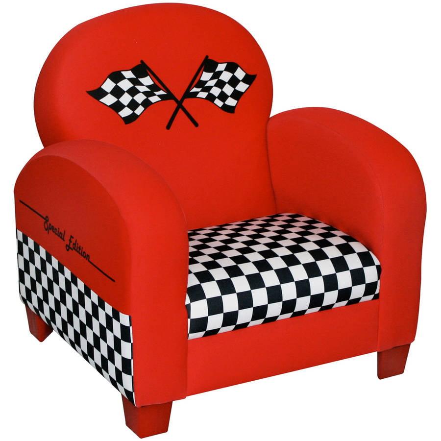 Newco Kids Race Car Chair, Red